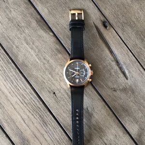 Men's Fossil Neutra Chronograph Leather Watch